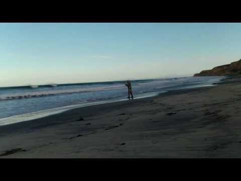 Surf Fishing for Surf Perch – San Diego Feb 2014