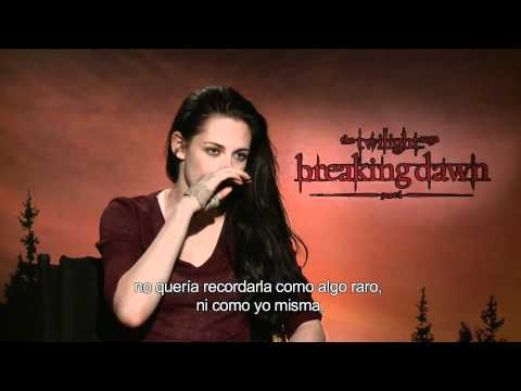 Entrevista a Kristen Stewart por Alex Medela - Twilight: Breaking Dawn Part 1