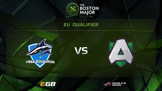 Vega vs Alliance, Boston Major EU Qualifiers