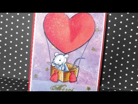 Carte Merci petite souris