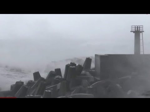 Year's strongest typhoon hits Taiwan & China: two people killed and left more than 300 injured