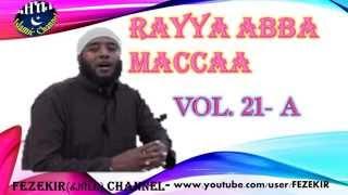 RAYYAA ABBA MACCA  VOL  21A -  Manzumaa Afaan Oromo