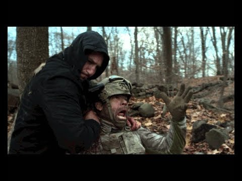 Marvel's The Punisher 1x05 Frank Castle Stabs Soldier To Death Forest Fight Scene