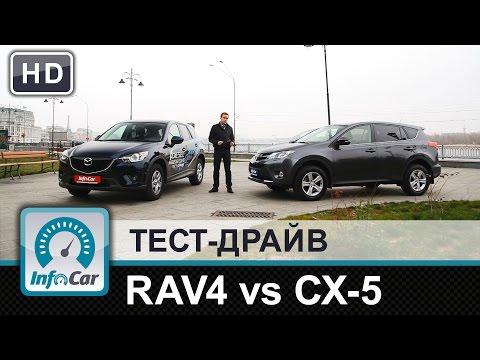 Toyota rav4 or mazda 5 фото