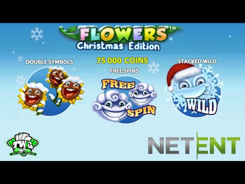 Flowers Christmas Online Slot from Net Entertainment