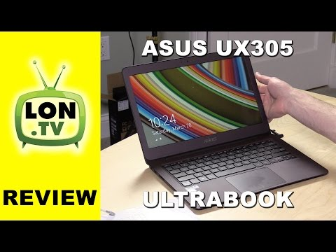 ASUS Zenbook UX305 Ultrabook Review - Fanless Macbook Air alternative laptop with new Core M chip