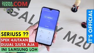 Rp 2Juta!! SAMSUNG GALAXY M20 & GALAXY M10 INDONESIA  SAMSUNG TURUN KASTA?   SPESIFIKASI DAN HARGA