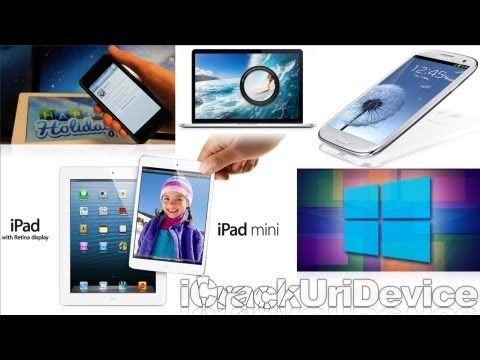 New iPad 5, iPad Mini 2, Galaxy S4 Details, Jailbreak iOS 6.0.1 News 6.1, Windows 9 Blue & More