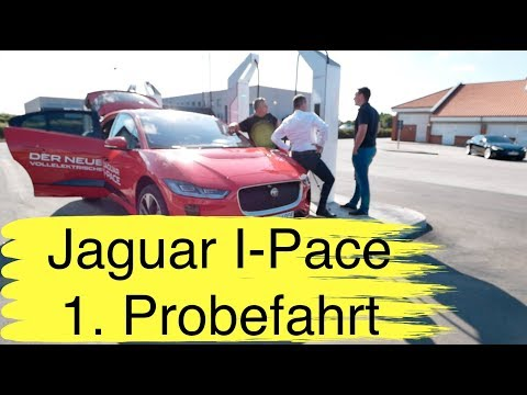 Jaguar I-Pace 1. Probefahrt mit Überraschungen + die Auflösung des