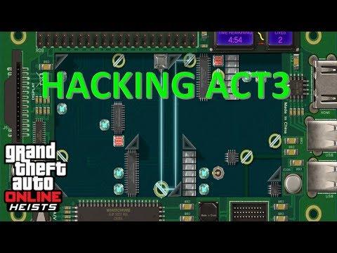 GTA 5 - The Doomsday Scenario - ACT 3 - Tutorial - How to hack the servers [PS4]