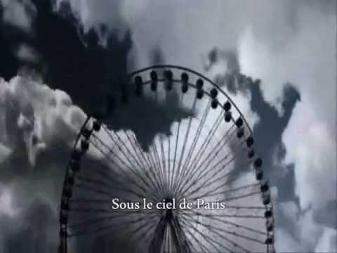 Скачать песню ив монтан под небом парижа