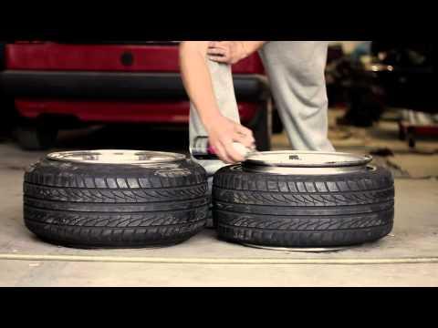 Honda Stretched Tires Crash