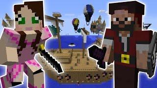 Minecraft: STEALING A PIRATE SHIP QUEST - Custom Mod Challenge [S8E17]