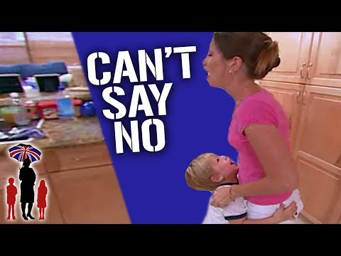Mom Can T Say No To Her Out Of Control Kids Supernanny