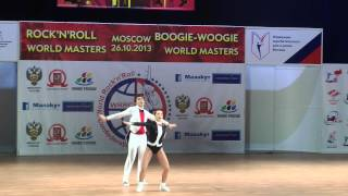 Evgenia Murashova & Alexei Murashov - World Masters Moskau 2013