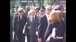 Presidente Napolitano a Cassino