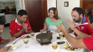 VÍDEO: Chilenos conhecem prato típicos da gastronomia de Minas e elogiam a hospitalidade dos mineiros