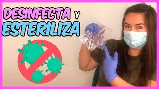 9 - ¿Cómo desinfectar / esterilizar las herramientas?