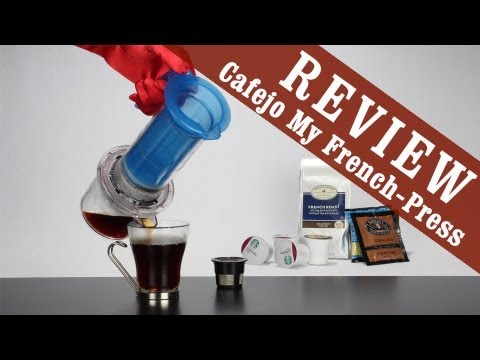 My French Press by Caféjo (brew K-Cup, Pod & Ground Coffee) - Exclusive Review
