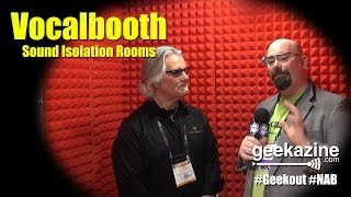 NAB 2014: Vocalbooth Builds Soundproof Rooms