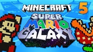 SUPER MARIO GALAXY MAP [5] ★ Minecraft Puzzle Adventure