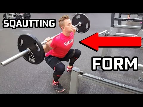 Proper Squatting Form | Squats with Weights