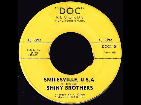 Shiny Brothers - SMILESVILLE, U. S.A. (Gold Star Studio)  (1964)