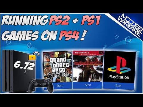 (EP 7) How to Run PS1 & PS2 Games on a Jailbroken PS4