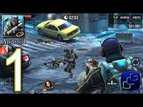 Frontline Commando 2 Android Walkthrough - Gameplay Part 1 - Chapter 1: Welcome To Eclipse