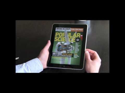 Popular Science magazine voor iPad review
