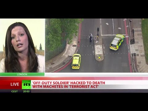 UK - A man believed to be soldier has been beheaded in an attack on a street outside Woolwich barracks in South East London. Prime Minster David Cameron has cut s...