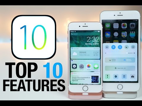 , title : 'Top 10 iOS 10 Features - What's New Review'