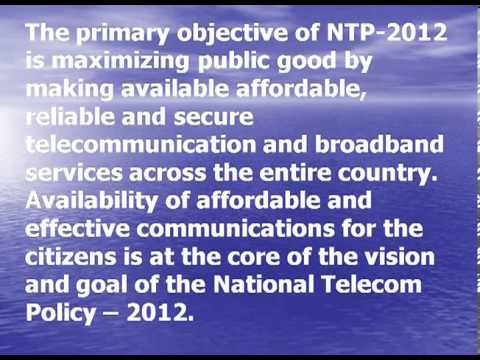 National Telecom Policy & Its Impact