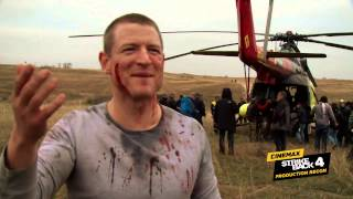 Strike Back Season 4: Production Recon #4 – Helicopter Evacuation (Cinemax)