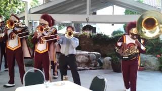 USC Trojan Marching Band - Wedding Gig