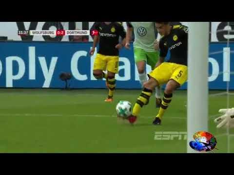 Wolfsburg 0x3 Borussia Dortmund 19/08/17  All Goals & Highlights MELHORES MOMENTOS