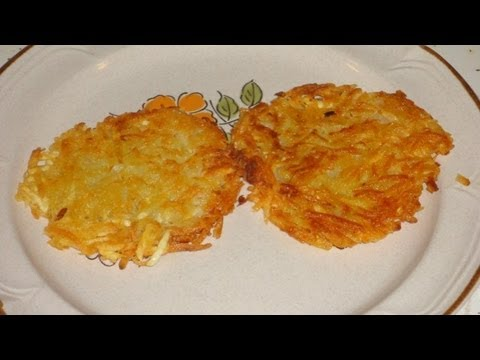 potato grated chicken - These Golden Brown Hash Browns are so easy to make you might make them all the time. They taste great and are really easy. All you need for perfect hash brow...