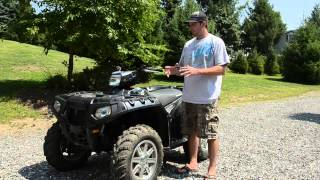 8. ATV Review: Polaris Sportsman 550