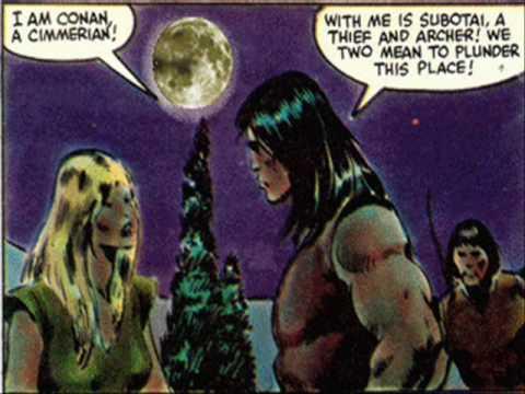conan the barbarian motion comic  movie pt.2