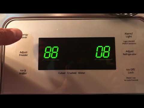 Reset GE Refrigerator display 219Realty.com