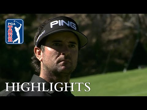 Bubba Watson extended highlights   Round 2   Genesis Open