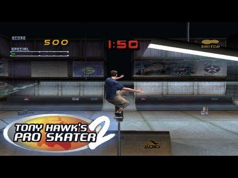 tony hawk pro skater 2 playstation 1