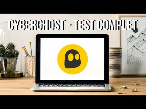 CyberGhost VPN - Démo & Avis (Test Complet)