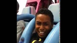 Un arabe se chie dessus dans un parc attraction !! - YouTube