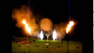 Bodenfeuerwerk 2