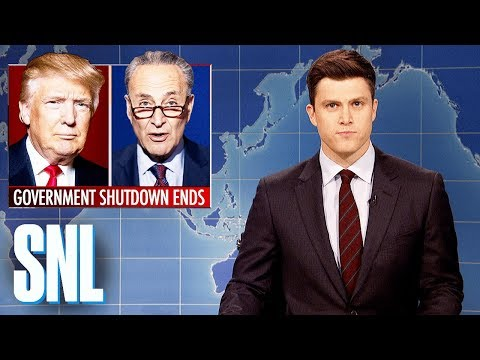 Weekend Update on End of Government Shutdown - SNL
