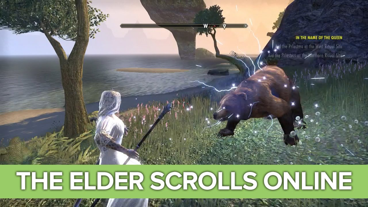 The Elder Scrolls Online Xbox One Gameplay – Costumes! Crown Store! Temple!
