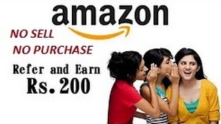 How to Make Money Online - Refer And Earn Money From Amazon - Hindi