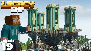 Legacy SMP :Transforming DangThatsaLongName's Fantasy Castle in Minecraft 1.15 Survival