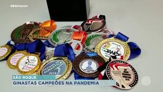 Equipe de ginástica rítmica de São Roque se destaca em competições